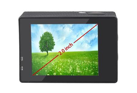 Action camera full HD 1080P met Wifi | Leg al jouw actiemomenten vast