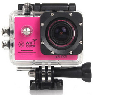 Action camera full HD 1080P met Wifi 32GB micro SD