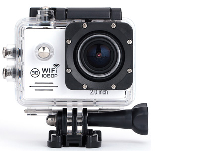 Action camera full HD 1080P met Wifi 32GB micro SD