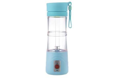 Draadloze Blender bottle | Altijd en overal een eigen gemaakte smoothie Blauw