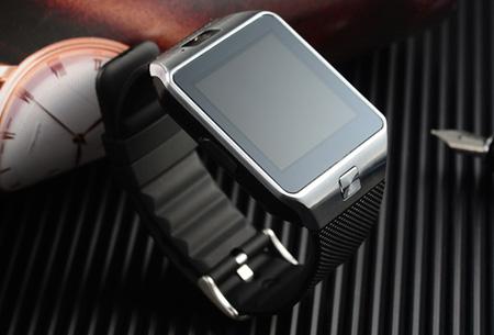Bluetooth smartwatch met camera en micro SIM kaart functie   Gebruik je horloge als telefoon!