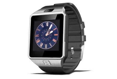 Bluetooth smartwatch met camera en micro SIM kaart functie | Gebruik je horloge als telefoon! Zilverkleurig