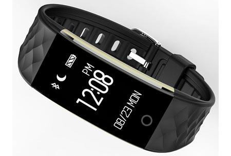 Bluetooth Activity tracker | Monitor je hartslag, beweging, slaap en ontvang pushmeldingen