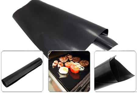 2-pack BBQ-ovenmatten | Voorkom onnodig schoonmaken