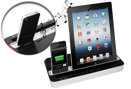Docking charge station