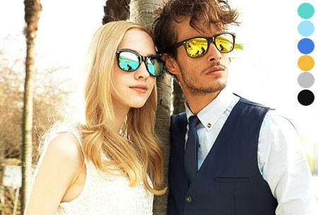 Spiegel Wayfarer zonnebrillen