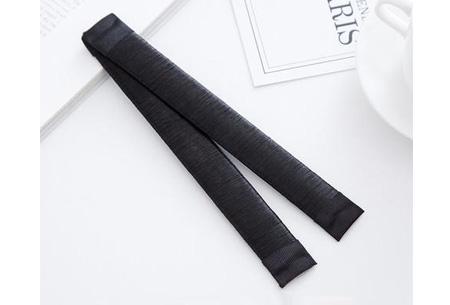 Magic bun set van 2 stuks | Maak een mooie knot in een handomdraai Black