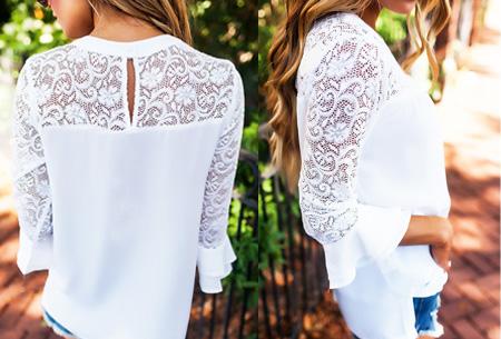 Lace blouse | Stijlvol, trendy en op & top vrouwelijk