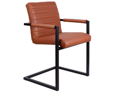 Lederen conference stoelen