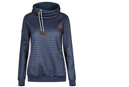 Stripe sweater | Super comfy sweater voor een hippe & casual look donkerblauw