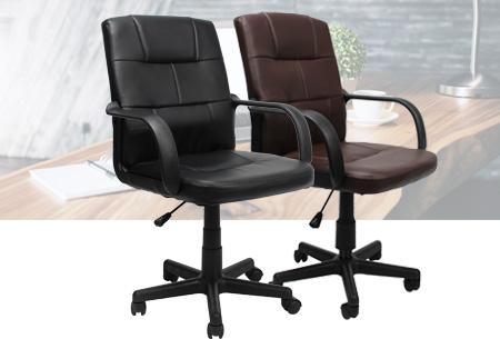 Stijlvolle design bureaustoel