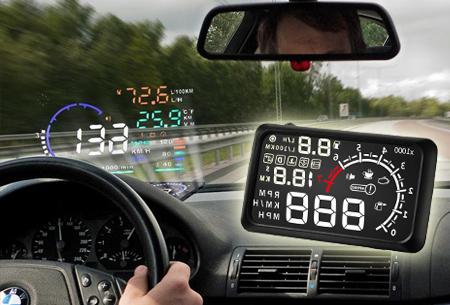Head-up car display