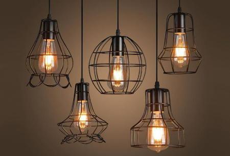 Art Deco hanglamp in 10 uitvoeringen | Moderne hanglampen met een hip geometrisch design