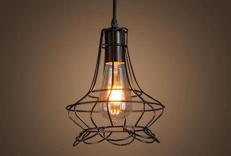 Art Deco hanglamp in 10 uitvoeringen | Moderne hanglampen met een hip geometrisch design Model A