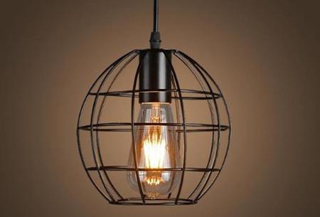 Art Deco hanglamp in 10 uitvoeringen | Moderne hanglampen met een hip geometrisch design Model B
