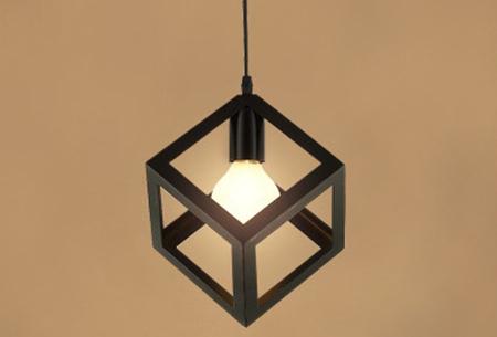 Art Deco hanglamp in 10 uitvoeringen | Moderne hanglampen met een hip geometrisch design Model F