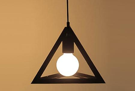 Art Deco hanglamp in 10 uitvoeringen | Moderne hanglampen met een hip geometrisch design Model G