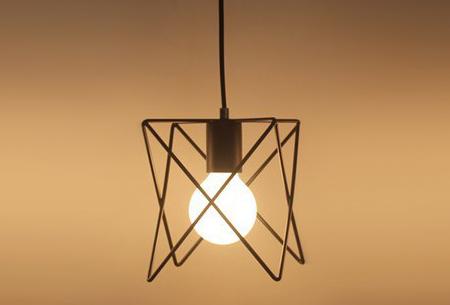 Art Deco hanglamp in 10 uitvoeringen | Moderne hanglampen met een hip geometrisch design Model I
