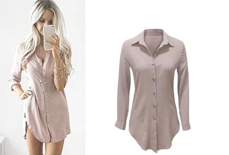 Lange blouse | Fashionable key-item voor jouw garderobe lichtroze