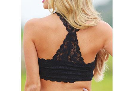 Lace bralette | Stijlvolle, sexy BH met optimaal draagcomfort