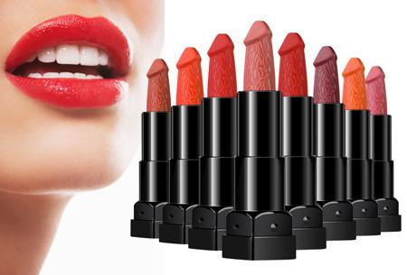 Hilarische piemel lipstick