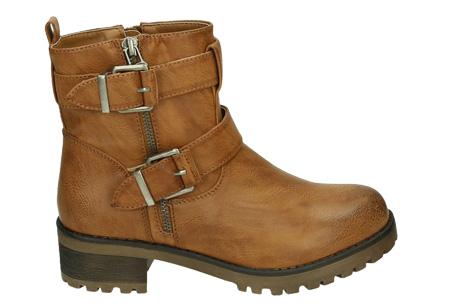 Biker boots   Stoer, stijlvol en tijdloze enkellaarsjes Camel