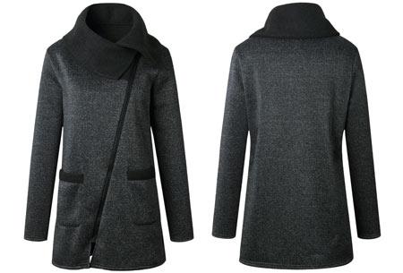 Oversized dames vest   Hip & comfy vest om heerlijk in weg te kruipen! T/m maat 5XL