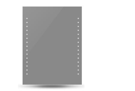 Badkamerspiegel met LED verlichting | Energiezuinig en sfeervol 50x60 cm