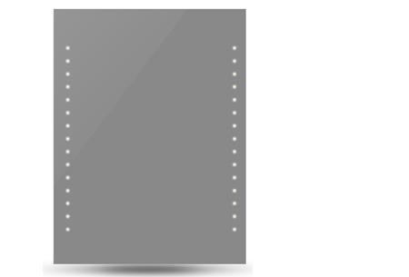 Badkamerspiegel met LED verlichting | Energiezuinig en sfeervol 60x80 cm