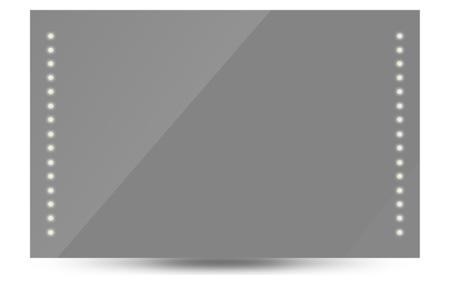 Badkamerspiegel met LED verlichting | Energiezuinig en sfeervol 100x60 cm
