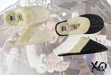 XQ Home pantoffels voor dames en heren   Met heerlijk zachte en warme binnenvoering