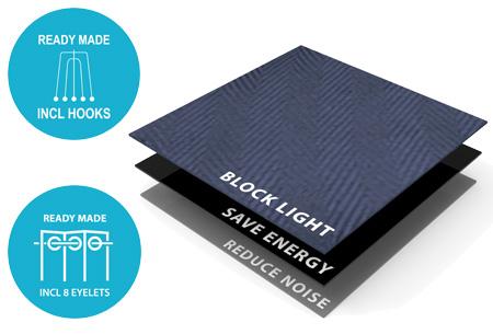 Larson Blackout verduisterende gordijnen | Hotelkwaliteit gordijnen voor een mooie prijs