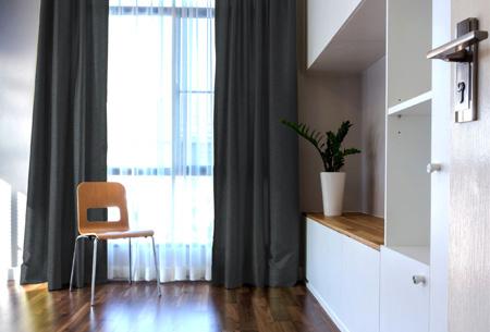 larson hotelkwaliteit verduisterende gordijnen met visgraat motief voor een mooie prijs