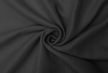 Larson blackout verduisterende gordijnen Dark Grey- Haken - 150 x 250 cm