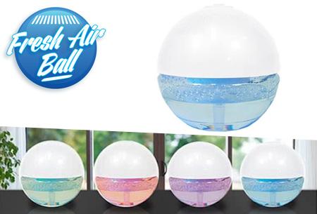 Fresh Air Ball luchtbevochtiger en -verfrisser