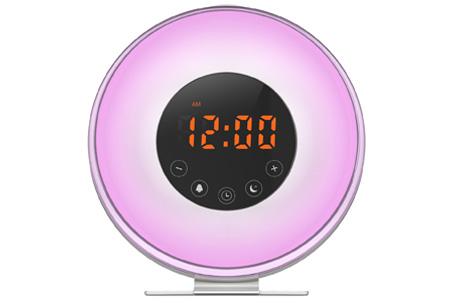 LED lichtwekker met natuurgeluiden en FM-radio | Word voortaan uitgerust wakker!
