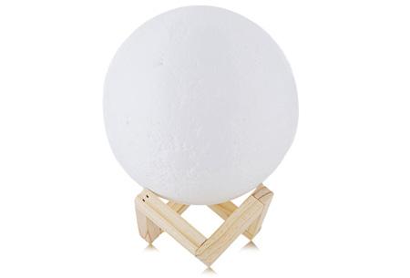 3D Moon lamp in diverse formaten | Unieke maanlamp voor een magisch & sfeervol effect!