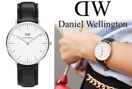 Dagaanbieding: Daniel Wellington horloges nu met korting