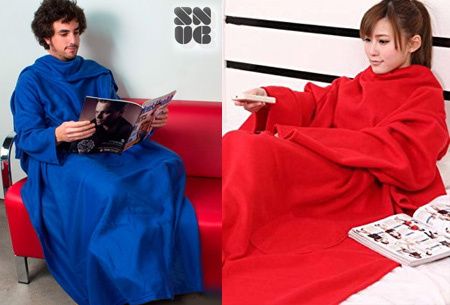 Dagaanbieding: Snug Snug deken met mouwen