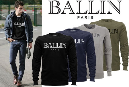 BALLIN Paris heren sweater