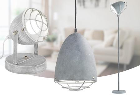 Industriele Lampen Outlet : Cammy lampen
