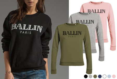 06e376d80cb BALLIN Paris dames sweater