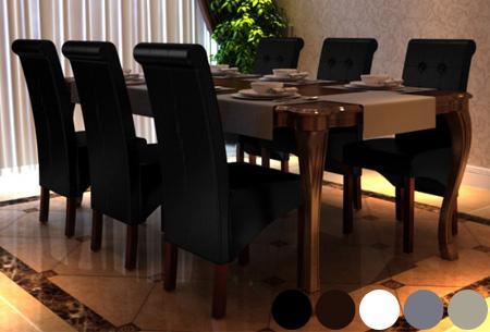 Klassieke eetkamerstoelen for Eetstoelen outlet