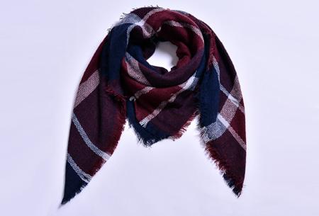 Oversized tartan sjaal | Keuze uit 15 prints - nu in de sale! #1