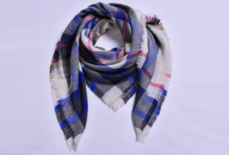 Oversized tartan sjaal | Keuze uit 15 prints - nu in de sale! #4