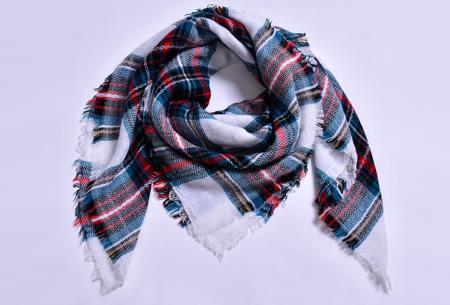 Oversized tartan sjaal | Keuze uit 15 prints - nu in de sale! #7