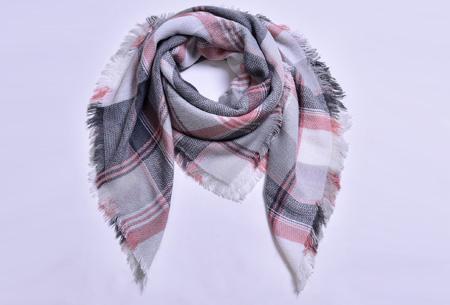 Oversized tartan sjaal | Keuze uit 15 prints - nu in de sale! #8
