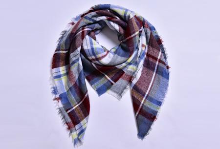 Oversized tartan sjaal | Keuze uit 15 prints - nu in de sale! #11