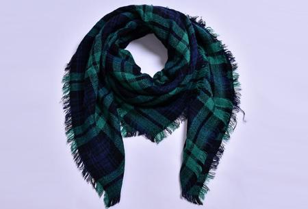 Oversized tartan sjaal | Keuze uit 15 prints - nu in de sale! #13