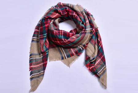 Oversized tartan sjaal | Keuze uit 15 prints - nu in de sale! #14